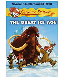 Shree Book Centre Geronimo Stilton The Great Ice Age Graphic Novel - Language English