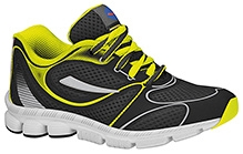 Elefantastik Sneakers Fluoroscent Yellow And Black