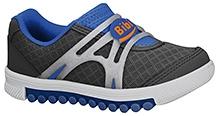 Elefantastik Sneakers Silver Black And Royal Blue
