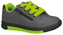 Elefantastik Trendy Leather Sneaker - Black And Green Lemon