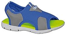 Elefantastik Trendy Canvas Sandals - Royal Blue And Graphite