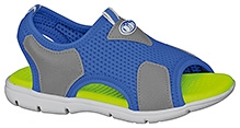 Elefantastik Trendy Canvas Sandals - Royal Blue And Graphite