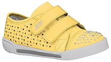 Elefantastik Stone Studded Sneakers - Yellow