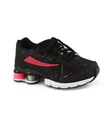 Elefantastik Sneakers - Black and Pink