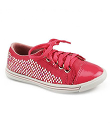 Elefantastik Sneakers With Glitter - Magenta