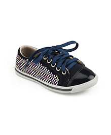 Elefantastik Sneakers With Glitter - Blue