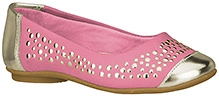 Elefantastik Ballerina  Embossed Party Wear  - Pink