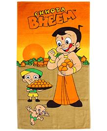 Chhota Bheem Bath Towel - Orange