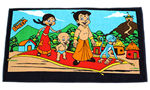Chhota Bheem Bath Towel - Black