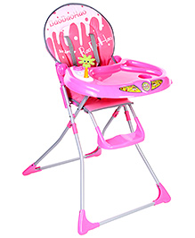 Fab N Funky Baby High Chair - Pink
