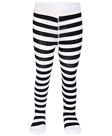 Mustang Footed Tights Honey Bee Stripes