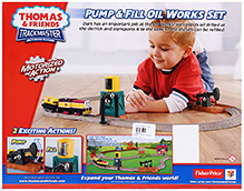 Thomas And Friends Pump And Fill Oil Work Set