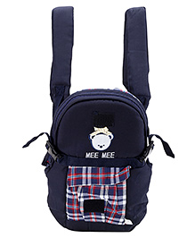 Mee Mee 3 Way Deluxe Baby Carrier - Navy Blue