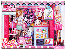 Barbie Pet Boutique Malibu Ave Pet Dress Up Set - 3 Years+