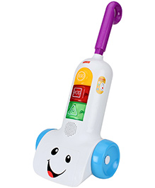 Fisher Price Laugh And Learn Music Vacuum Smart Stages