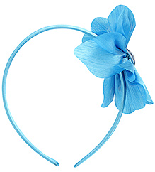 Stol'n Disney Princess Flower Design Hair Band - Dark Blue