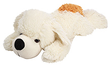 IR Soft White Small Sleeping Dog - 52 cm
