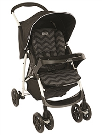 Graco Stroller Mirage Plus Black Zig Zag