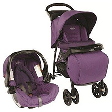 Graco Travel System Mirage Plus - Blackberry