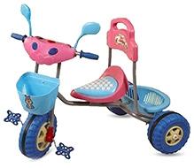 Bajaj Tricycle Adventure Dx Blue And Pink