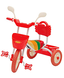 Bajaj Tricycle Sweet Green And Red