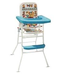 Bajaj High Chair Bear Print - Blue