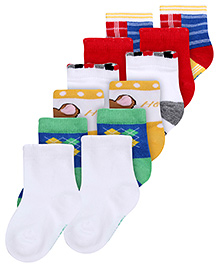 Mustang Ankle Length Socks - Set Of 6