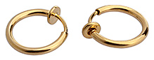 Fab N Funky Earrings Gold Plated - Free Size