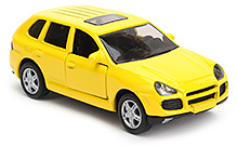 Siku Porsche Cayenne Car Yellow