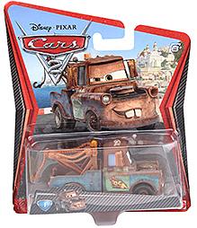 Disney Pixar Cars Pull Back Mater Racer Car