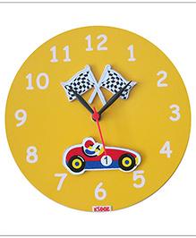 Kidoz Racer Wall Clock