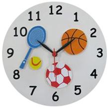 Kidoz Sports Wall Clock