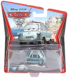 Disney Pixar Cars Suki Car - Sky Blue