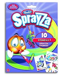 RenArt Sprayza Stencil 1 - Pack of 10