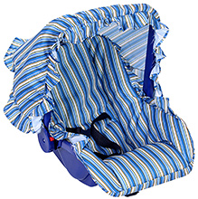 Fab N Funky Carry Cot - Stripes Pattern Print
