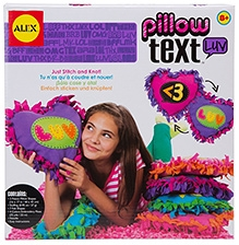 Alex Toys Pillow Text - LUV