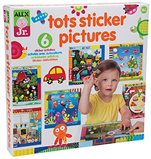 Alex Toys Tots Sticker Pictures Kit - Multi Color
