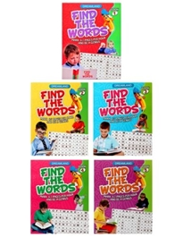 Dreamland Find The Words Combo Pack - English