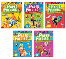 Dreamland Paper Folding Book Pack Of 5 - Englsih