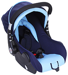 Fab N Funky Convertible Car Seat Cum Carry Cot - 0 Months+