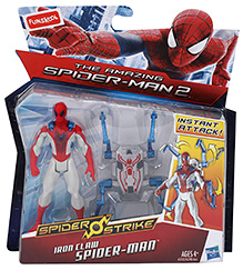 Funskool Spider Strike With Spider iron Claw - Red And White