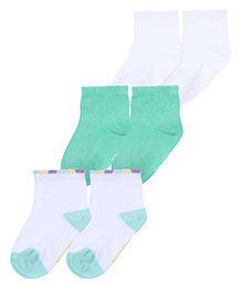 Mustang Ankle Length Socks - Set Of 3