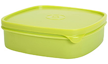 Pratap Lunch Box Square Shape -  Green