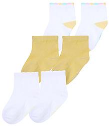 Mustang Ankle Length Socks - Set Of 3