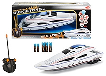 Dickie Remote Control Sea Lord Boat - 34 Cm