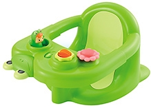 Smoby Cotoons Baby Bath Seat - Green - Soft Seat