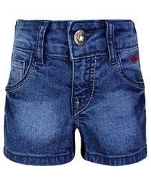 Gini & Jony Shorts with Pockets - Blue