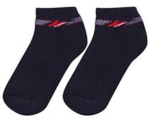 Cute Walk Ankle Length Socks - Black