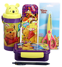 Winnie The Pooh School Kit - Pack Of 5