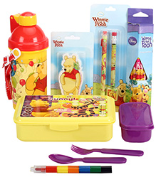 Winnie The Pooh School Kit - Pack Of 6